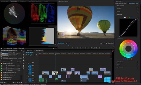 Skärmdump Adobe Premiere Pro för Windows 8.1