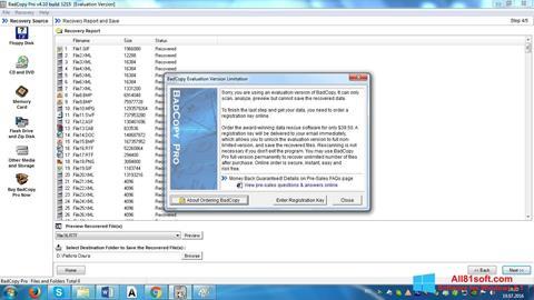 Skärmdump BadCopy Pro för Windows 8.1