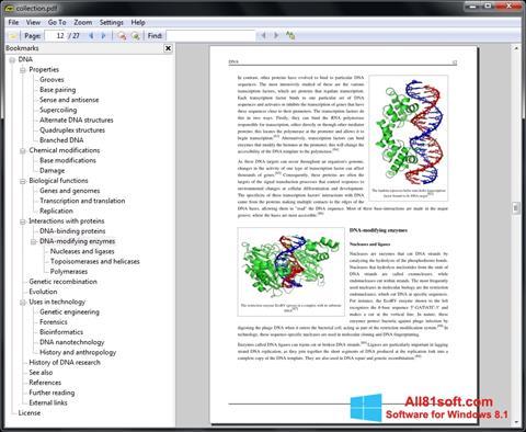 Skärmdump Sumatra PDF för Windows 8.1