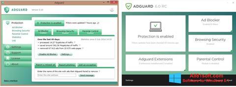 Skärmdump Adguard för Windows 8.1