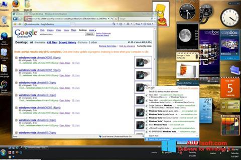 Skärmdump Google Desktop för Windows 8.1
