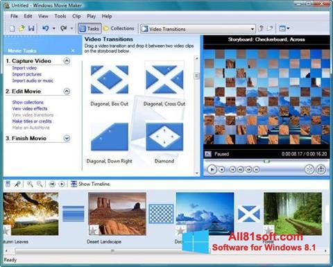 Skärmdump Windows Movie Maker för Windows 8.1