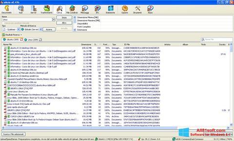 Skärmdump eMule för Windows 8.1